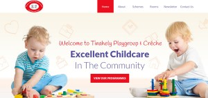 Tinahely Community Playgroup and Crèche Website